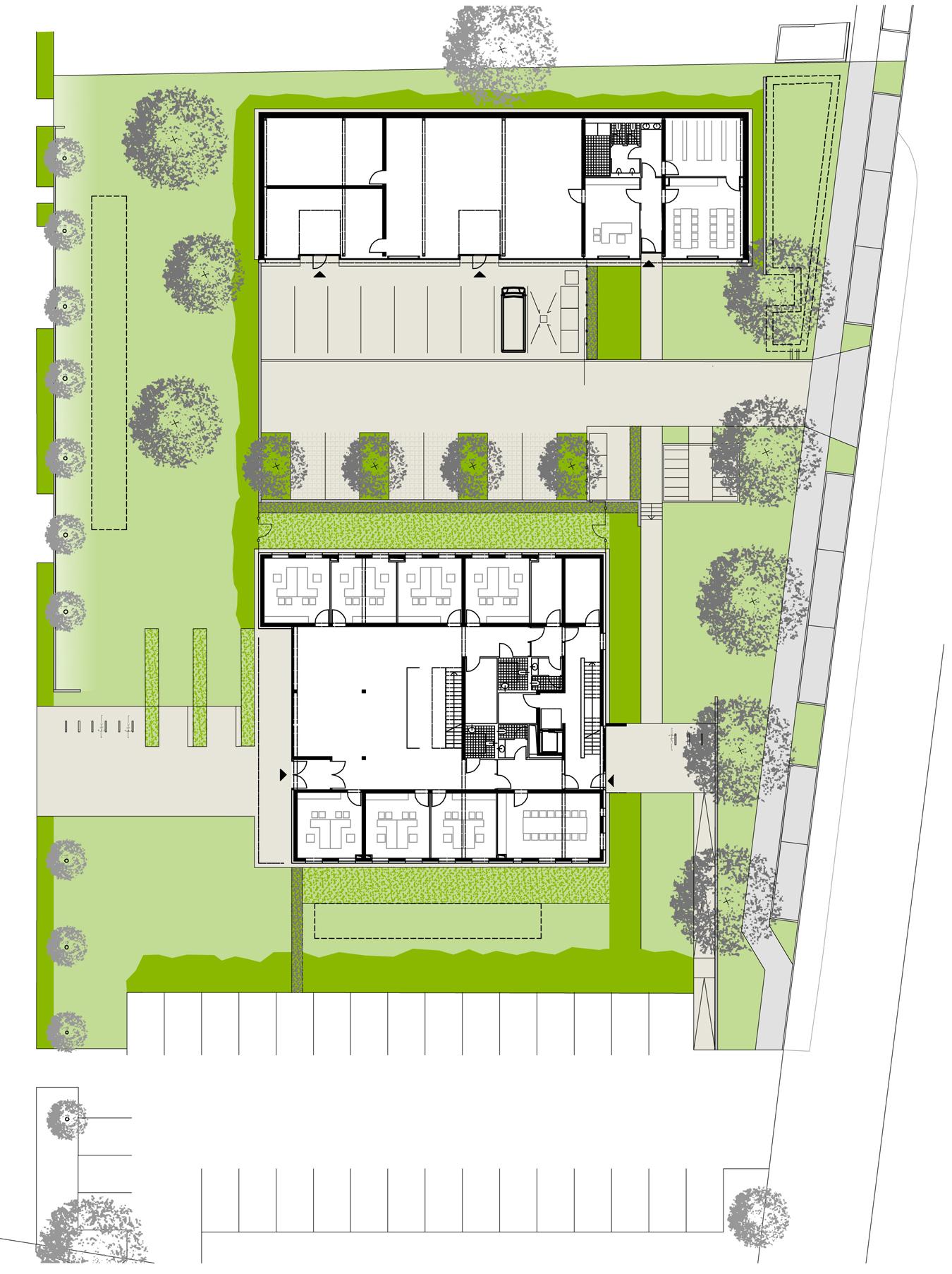 Fontaneplatz Plan a8